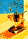 Un des premiers transistors